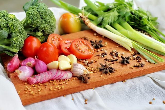 koření a zelenina