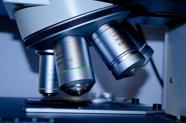 mikroskop a snímek