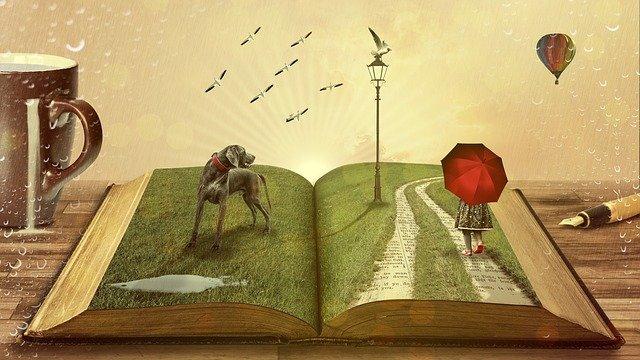 příběh knihy