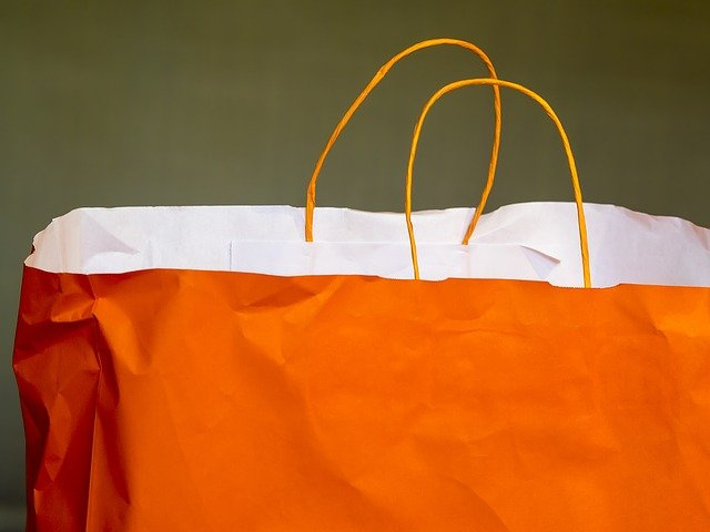 oranžová taška