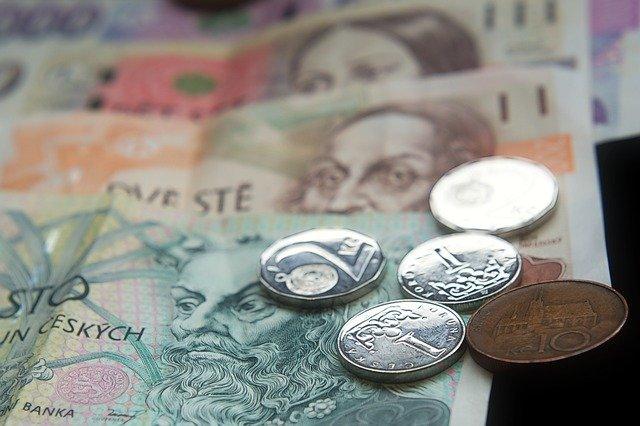 peníze česka